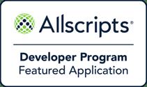 Allscripts Featured Application